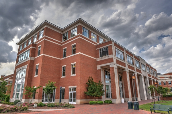 UNC Charlotte Cato College of Education building