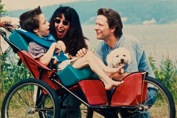 Jesse, Marianne, and Chris Cooper