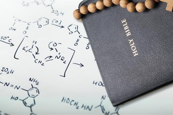 Bible and scientific formulas